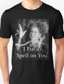 I Put a Spell On You - Hocus Pocus Unisex T-Shirt