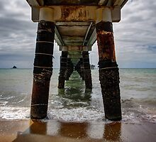Under the Pier by Joel Bramley