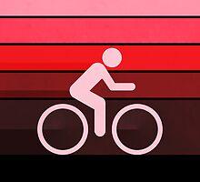 Biking Red by Phil Perkins