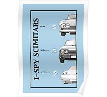 I-Spy Scimitars Tee Poster