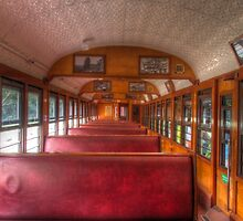 Scenic Railway Carriage by Joel Bramley