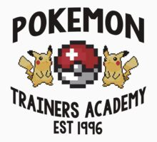 Pokemon Trainers Academy by Alisha Mumby