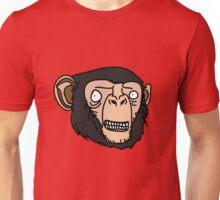 Smiling Chimp Unisex T-Shirt
