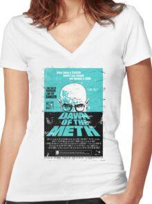 Dawn of Heisenberg Women's Fitted V-Neck T-Shirt