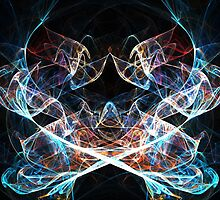 Abstract spiritual lights by cycreation