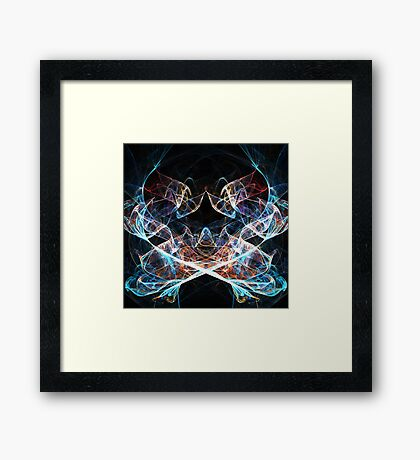 Abstract spiritual lights Framed Print