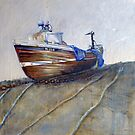 Our Georgina, North Landing, Flamborough by Sue Nichol