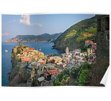 Sunrise on Vernazza Poster
