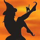 Samhain Witch by TriciaDanby