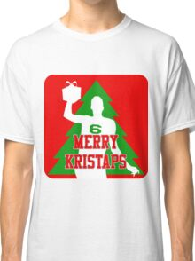 Merry Kristaps - Red Classic T-Shirt