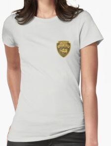 Sheriff of Sleepy Hollow Womens Fitted T-Shirt