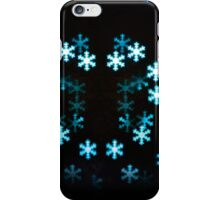Christmas snowflakes iPhone Case/Skin