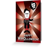 Dr Who Halloween Card 1 Greeting Card