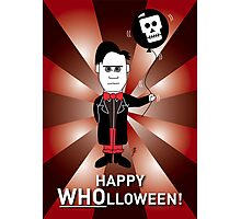 Dr Who Halloween Card 1 Photographic Print