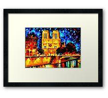 Notre Dame de Paris Framed Print