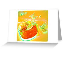 L'Orange Desert Greeting Card