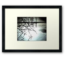 Gothic Reflections Framed Print