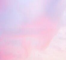 Blue And Pink Gradient by Deborah  Stormborn