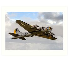 "Boeing B-17G 44-85734 N390TH ""Liberty Belle"" Art Print"