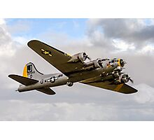 "Boeing B-17G 44-85734 N390TH ""Liberty Belle"" Photographic Print"