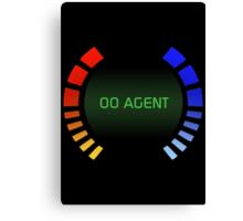 00 Agent Canvas Print