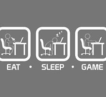 Eat, Sleep, Game (PC Version) by thehookshot