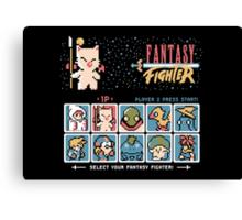 Fantasy Fighter Canvas Print