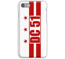 Smartphone Case - Flag of Washington DC 4  iPhone Case/Skin