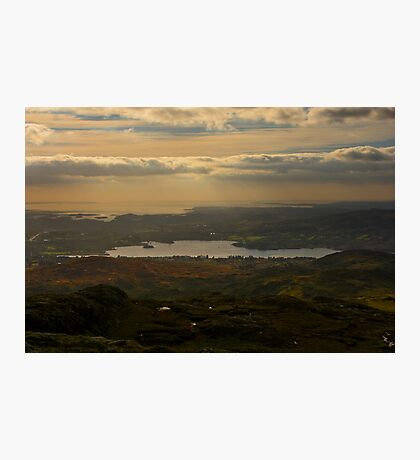 Lough Eske and Donegal Bay Photographic Print