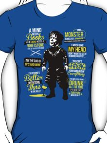 Quotes of the Half Man T-Shirt