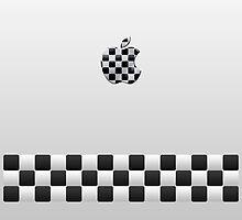 Finish [White + Apple Logo] by voGue