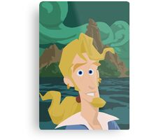 Guybrush Threepwood Metal Print