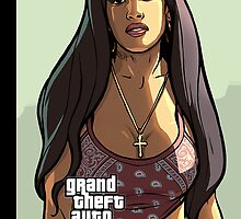 San Andreas iPhone Case 3 by LopperUK