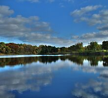 Autumn at the Lake 2 by Jimmy Ostgard