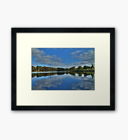 Autumn at the Lake 2 Framed Print