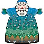 Stylized Blue Santa Claus by athertoncustoms