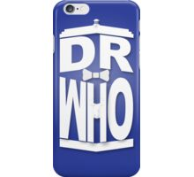 Doctor in the Tardis iPhone Case/Skin
