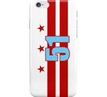 Smartphone Case - Flag of Washington DC 7 iPhone Case/Skin