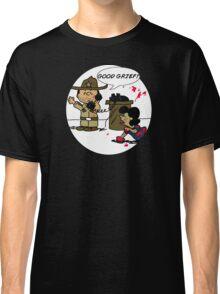 The Walking Block Heads Classic T-Shirt