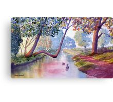 Late Summer at Brompton by Sawdon Canvas Print