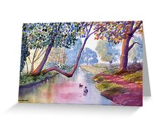 Late Summer at Brompton by Sawdon Greeting Card