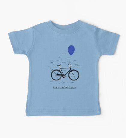 Anatomy Of A Bicycle Baby Tee
