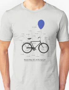 Anatomy Of A Bicycle T-Shirt