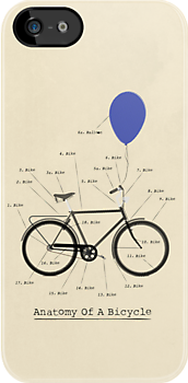 Anatomy Of A Bicycle by Andy Scullion