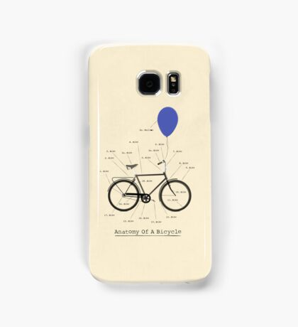 Anatomy Of A Bicycle Samsung Galaxy Case/Skin