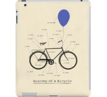 Anatomy Of A Bicycle iPad Case/Skin