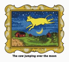 Goodnight Moon The Cow Jumping Over the Moon Baby Tee