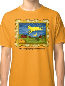 Goodnight Moon The Cow Jumping Over the Moon Classic T-Shirt