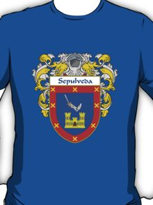 Sepulveda Coat of Arms/Family Crest T-Shirt