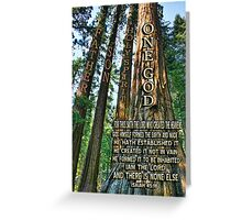 ✿♥‿♥✿ NATURE - TREES OF KNOWLEDGE-HOW THIS SPOKE TO ME-SCRIPTURE CARD/PICTURE✿♥‿♥✿ Greeting Card